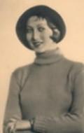 Actress Alice Treff, filmography.