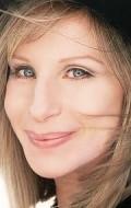 Actress, Director, Writer, Producer, Composer, Design Barbra Streisand, filmography.