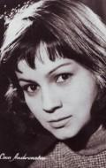 Actress Coca Andronescu, filmography.