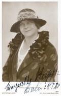 Actress Margarete Kupfer, filmography.