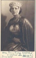 Actress Maria Eis, filmography.