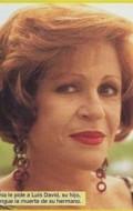 Actress Nury Flores, filmography.