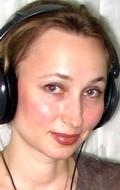 Actress, Voice director Olga Zvereva, filmography.