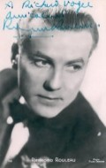 Actor, Director, Writer Raymond Rouleau, filmography.