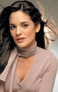 Actress Sabrina Seara, filmography.