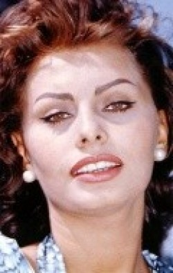 Actress Sophia Loren, filmography.