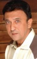 Actor Tej Sapru, filmography.