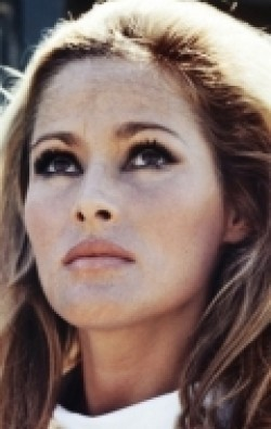 Actress Ursula Andress, filmography.