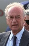 Yitzhak Rabin, filmography.