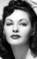 Actress Yvonne De Carlo, filmography.