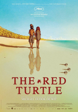 La tortue rouge - wallpapers.