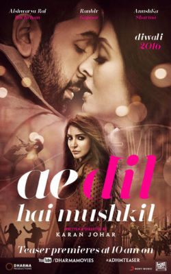 Ae Dil Hai Mushkil - wallpapers.