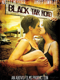 Black Tar Road - wallpapers.