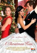A Christmas Kiss - wallpapers.