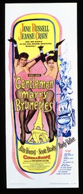 Gentlemen Marry Brunettes - wallpapers.